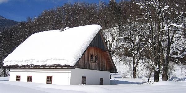 Jagahäusl im Winter © Nömayr