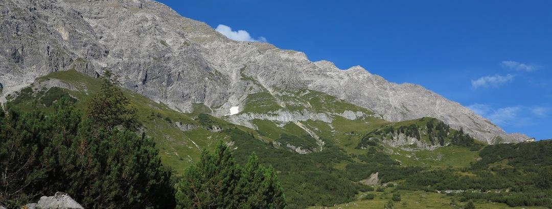 Auf dem Prättigauer Höhenweg.