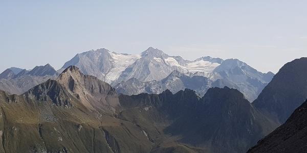 Zillertaler Alpen mit Hochferner, Hochfeiler und Hoher Weißzint