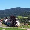 Traberg 953 m, Höf im Vordergrund
