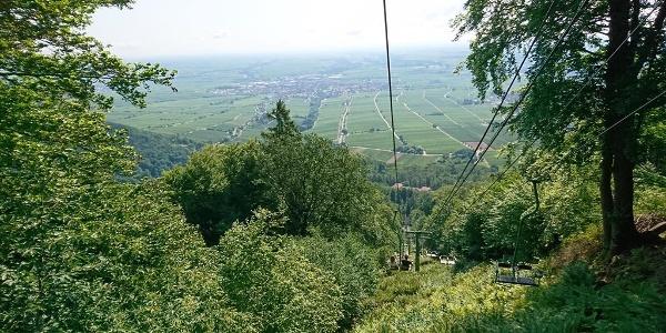 Talfahrt Rietburgbahn