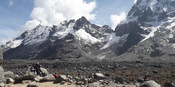 Salkantay Gletscher
