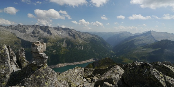 Der Lago di Malga Bissina im Tal