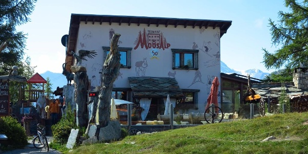 Restaurant Moosalp.