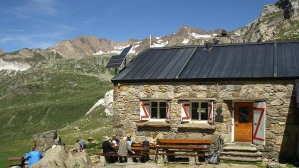 Binntalhütte.