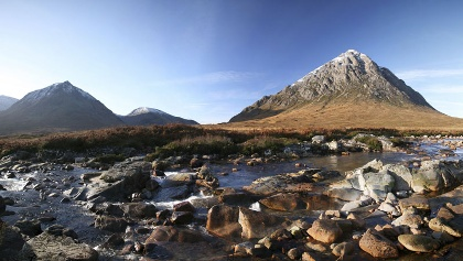 Buachaille Etive Mor, Rannoch Mor and Glencoe