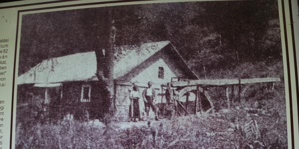 A Csörgő-malom egy régi fényképen