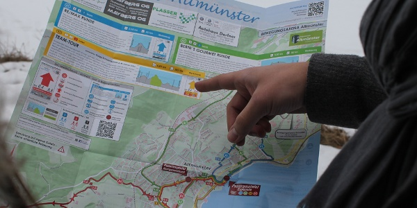 Bsp.: Streckenkarte Altmünster