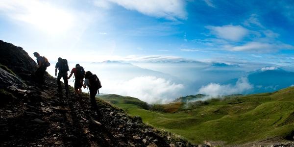 Optional aber lohnend: Aufstieg zum Calanda Gipfel