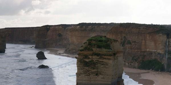 Die beeindruckende Küstenlinie des Meeresnationalparks