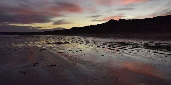 Just wonderful: White Beach at Torquay