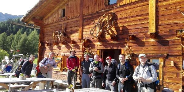 Bergsteigergruppe aus Kassel auf den Ahrntaler Schmugglerpfaden - Gruppo di alpinisti da Kassel su Sentieri contrabbandieri della Valle Aurina