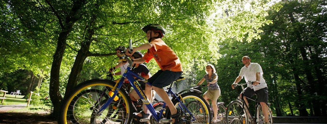 Radtour im Aktivpark