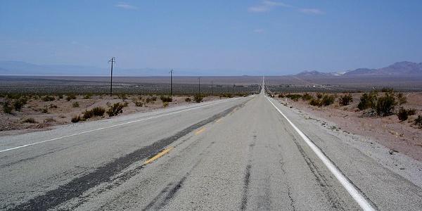 Auf der legendären Route 66 durch die Mojave-Wüste