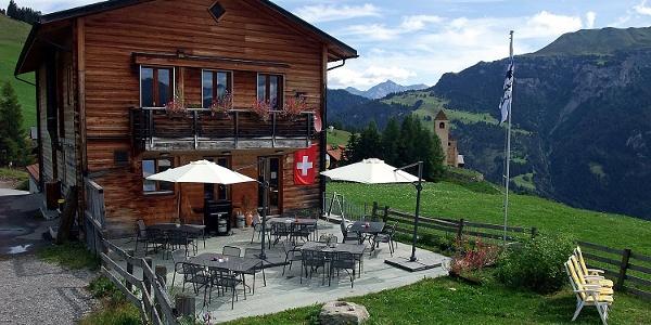 Bergrestaurant Orta Sommer