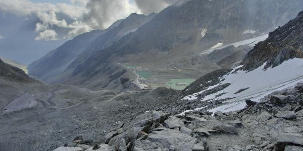 Abstieg ins Rettenbachtal