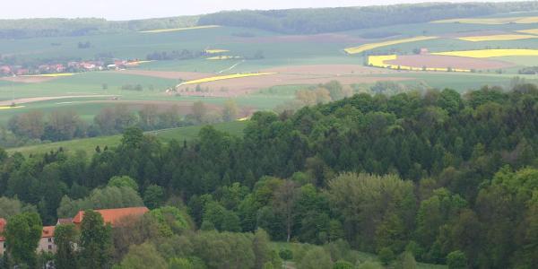 Blick vom Bergkurpark