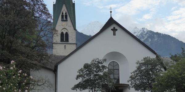 Kirche von Mayrhofen
