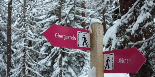 Von Obergesteln und Ulrichen gehts zur Senntumhütte.
