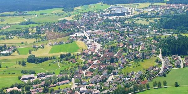 Luftaufnahme Lossburg