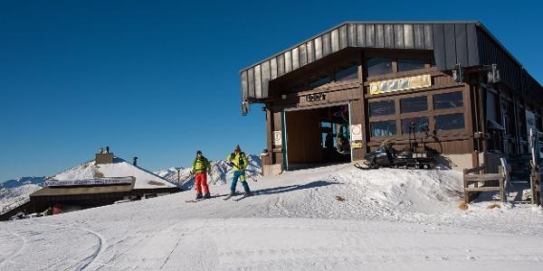 Ausstieg Bergstation Aineck