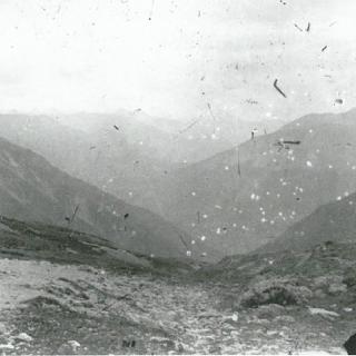 Ältestes Foto Schlappiner Joch um 1890