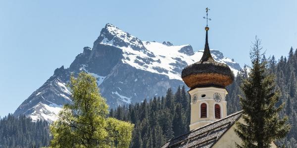 Kirchenturm Gargellen