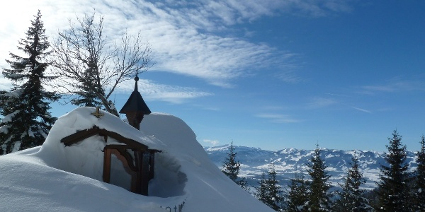 Klank-Kapelle im Winter