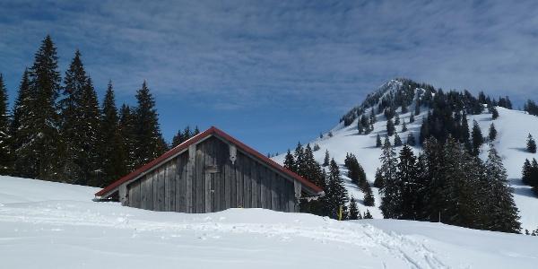 Klank Alpe im Winter