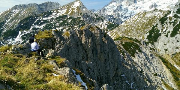 View from Visevnik summit