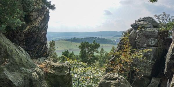 An der Teufelsmauer bei Blankenburg