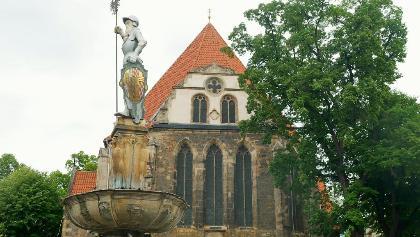 Die Bachkirche in Arnstadt