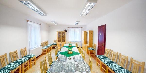 A Szalajka-ház étkezője