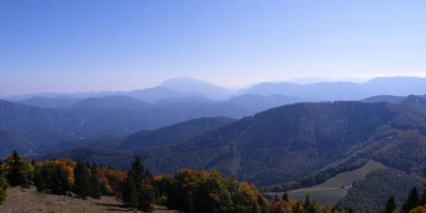 Schneeberg und Rax