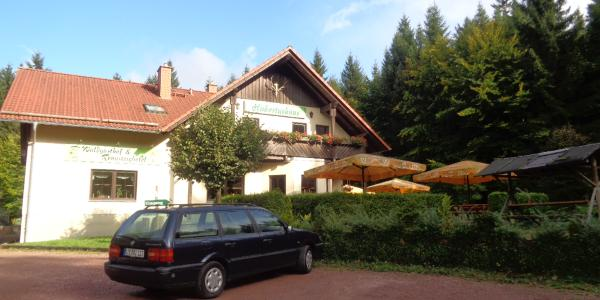 """Am Ziel Waldgasthof und Rennsteighotel """"Hubertushaus"""""""