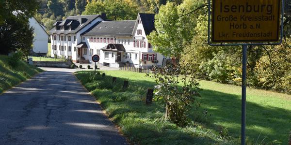 Start und Zielpunkt Forellengasthof Waldeck
