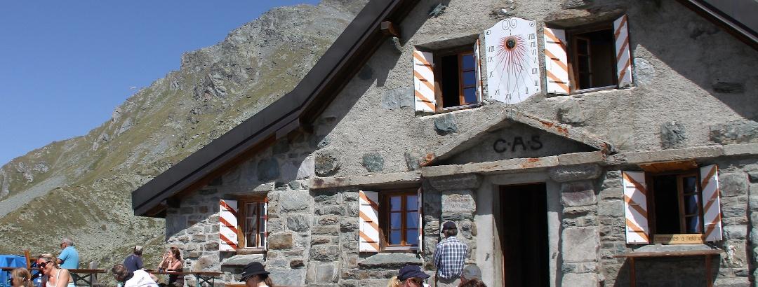 Cabane du Mont Fort.