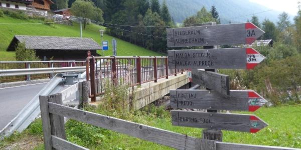 An der Stegerbrücke