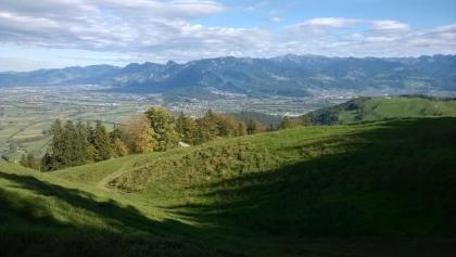 nach Montlinger Schwamm Richtung Rheintal