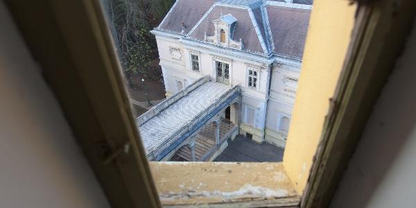 A kilátótorony ablaka