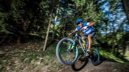 Mountainbike Singletrail Weissensee