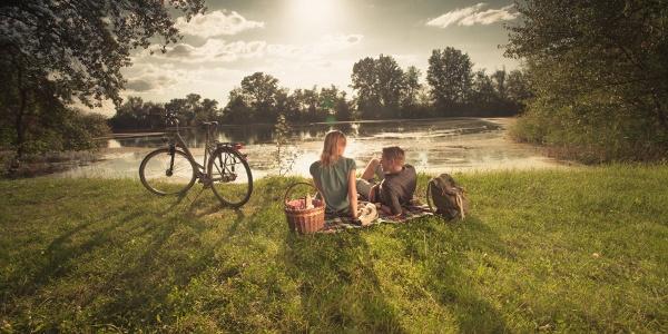 Picknick am Altrhein und an Seen