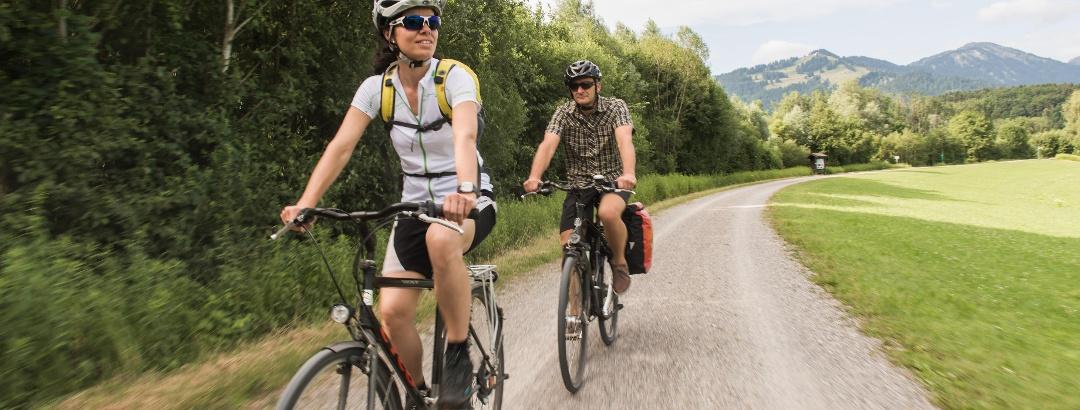 Radfahren an der Iller