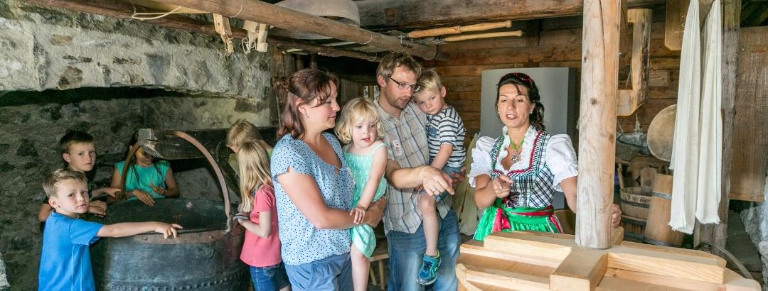 Führung im Bergbauernmuseum Diepolz
