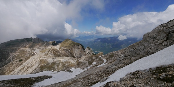 Ausblick in die Piccole Dolomiti