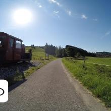 Radwandern Dampflokrunde Ostallgäu