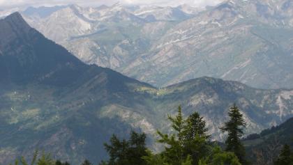 Aussicht vom Colle Intersile