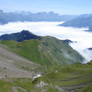 Grandioses Nebelmeer