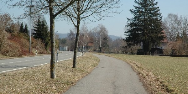 Veloweg Schaffhausen - Büsingen