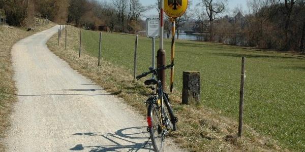 Veloweg vor Diessenhofen